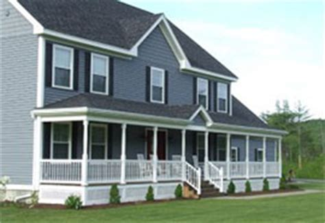 Houses With Porches Adding A Farmer S Porch To Colonial Style Homes Be The Pro
