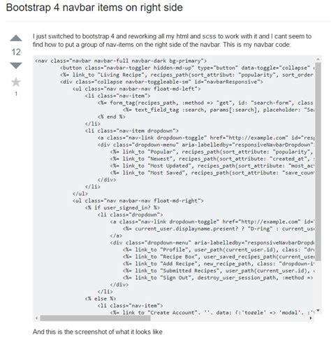 bootstrap layout side menu bootstrap menu exle