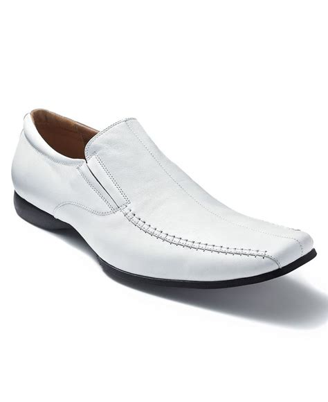 mens white dress boots steve madden shoes carano slip on dress shoes mens all