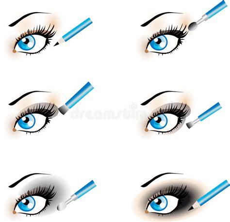 Flawless Eyeshadow Smoky flawless eye makeup icons black shadow smoky stock