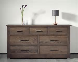50 Cm Wide Chest Of Drawers by Quercus Solid Oak 4 3 Wide Chest Of Drawers Con