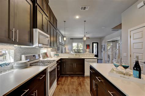 kitchen  burrows cabinets central texas builder