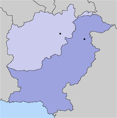 Afghanistan Pakistan Map Outline by Afghanistan Pakistan Map Quotes