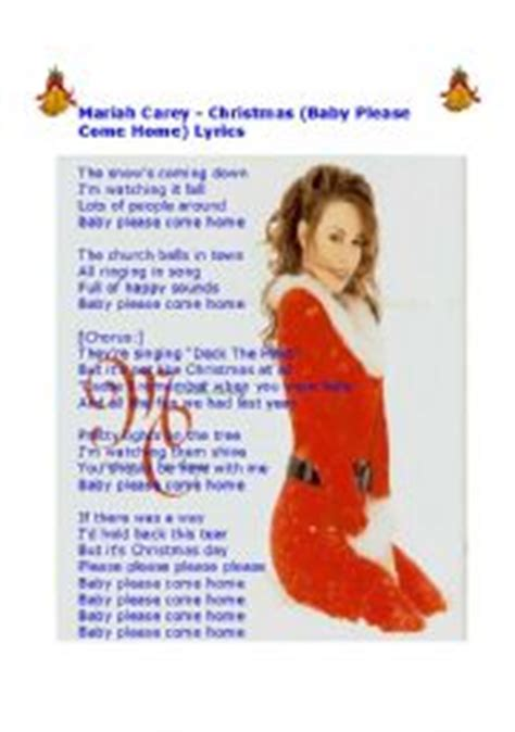 carey baby come home lyrics
