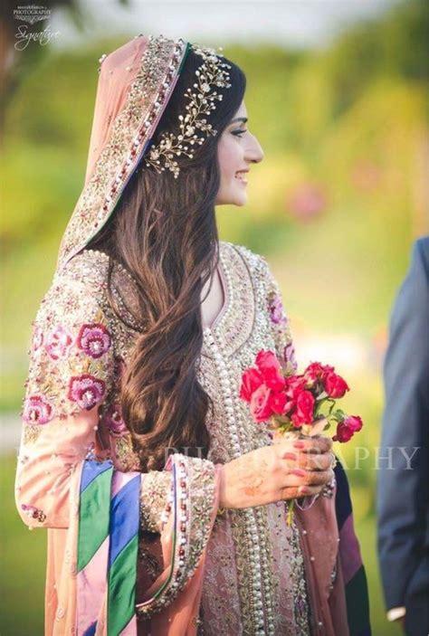 hairstyle ideas   emulate  pakistani brides
