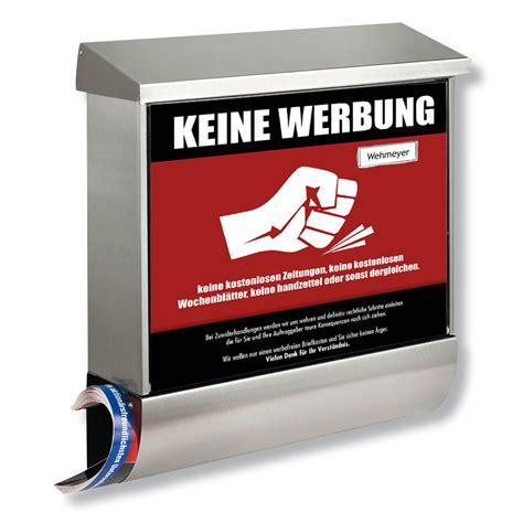 Werbung Trotz Aufkleber Keine Werbung by Aufkleber Design Zum Thema Quot Keine Werbung Quot 187 Design