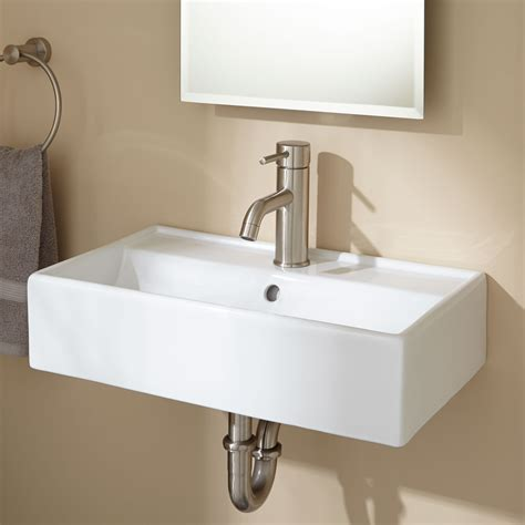 wall mount sink bathroom magali wall mount bathroom sink white ebay