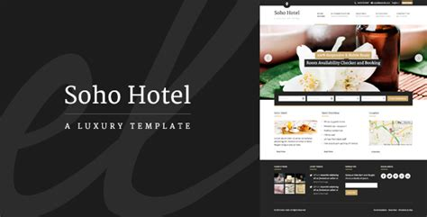 hotel theme themeforest soho hotel responsive hotel booking wp theme by
