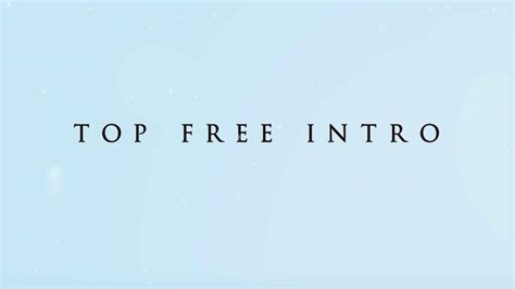 best free ae templates best after effects intro template free 55