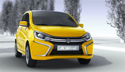 suzuki awind concept previews future city car