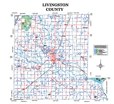 map of livingston county mi map of livingston county missouri