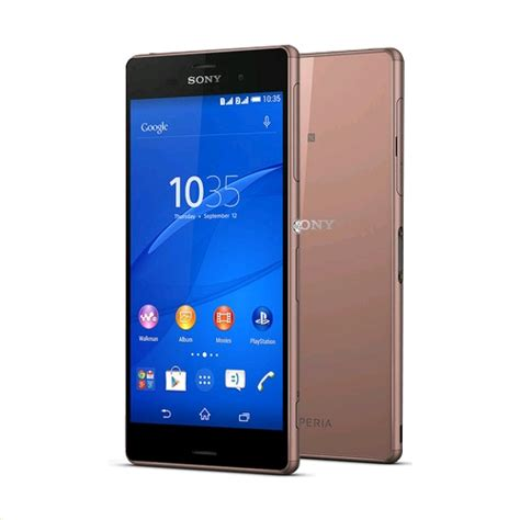 Hp Sony Z3 Dual sony xperia z3 dual d6633 unlocked lte 16gb copper