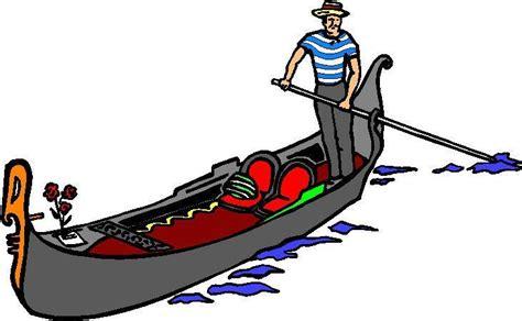 cartoon venice boat venice gondola cartoon clipart best