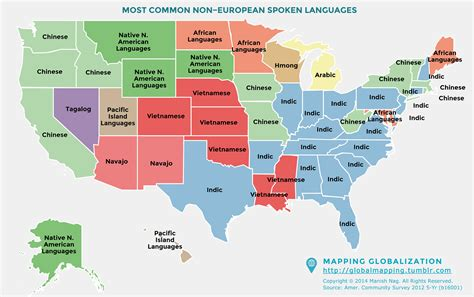 map us language most commonly spoken south asian languages in