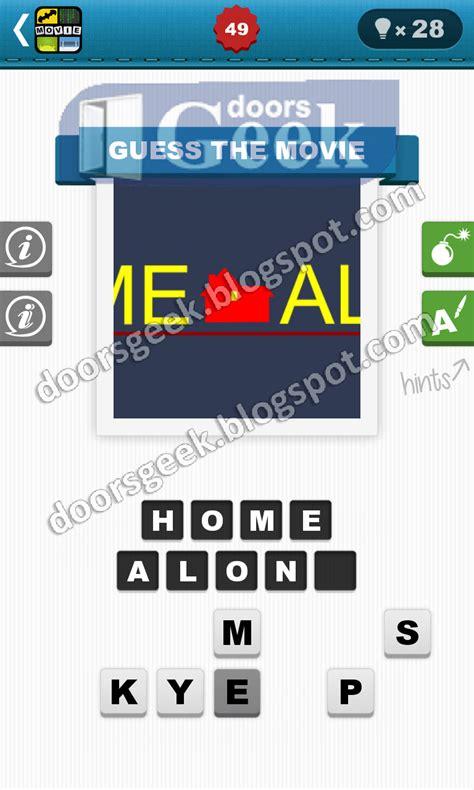 film quiz level 49 movie quiz level 49 bubble quiz games doors geek