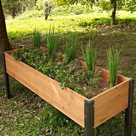 Raised Garden Planter Boxes by Best 25 Elevated Planter Box Ideas On Herb