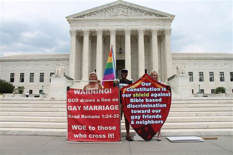 marriage supreme court decision we live in a democracy not a theocracy otherwords