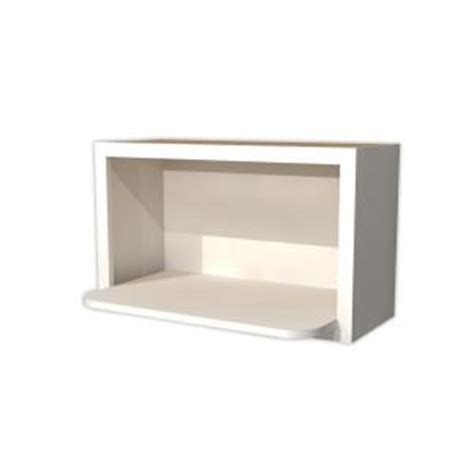The Cabinet Microwave Shelf by Home Decorators Collection Newport Assembled 30x18x18 In