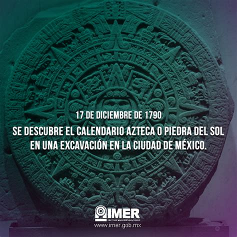 El Calendario Azteca El Calendario Azteca Imer