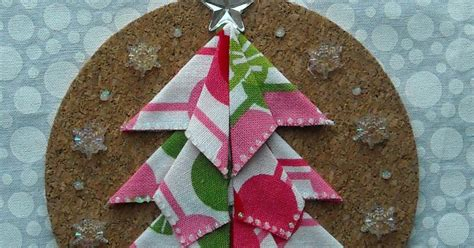 Origami Tree Ornament - crafter without a cat origami tree ornament