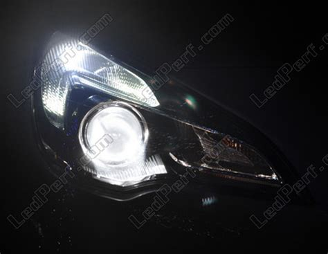 pack led sidelights daytime running lights for opel vauxhall astra j drl