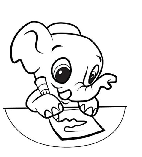 coloring page of a leap frog coloring pages leapfrog elephant geeks and geeklets