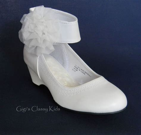 White Wedges Dress new white wedge dress shoes toddler