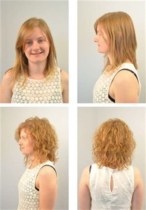 Texture Wave Before And After | texture waves on pinterest big loose curls wave perm