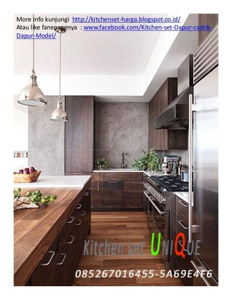 desain dapur harga jual kitchen set malang desain kitchen set untuk dapur