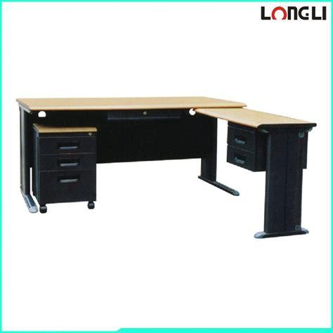 standard computer desk steel frame office computer desk standard office desk