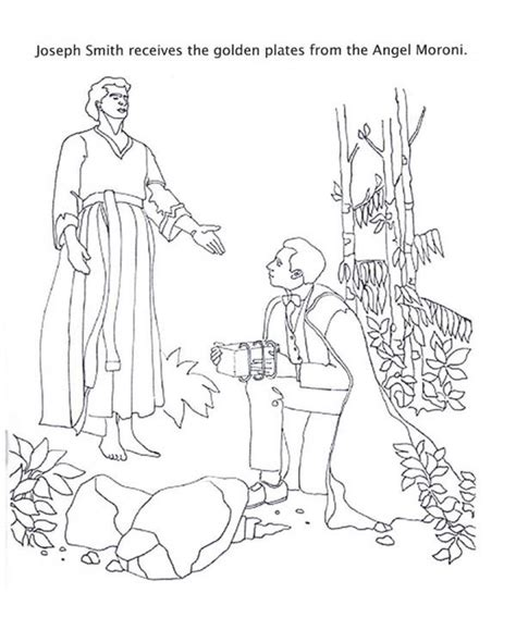 coloring pages angel moroni lds temples free coloring pages