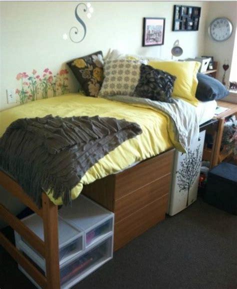 college bed haley s college dorm essentials under bed storage