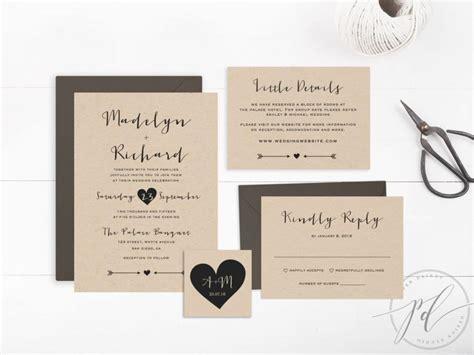 Wedding Invitation Artwork by Wedding Invitation Template Printable Editable Text And