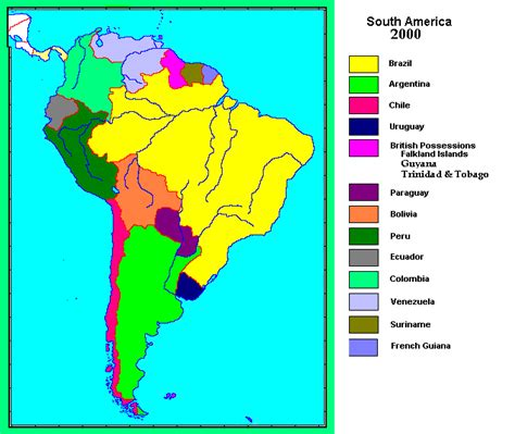 south america map by language culture 1