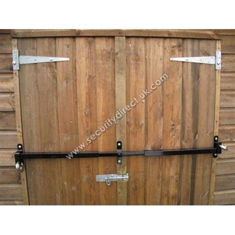 build  storage shed door shed double door