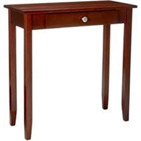 dhp rosewood sofa table dhp rosewood console table 5139096 the home depot