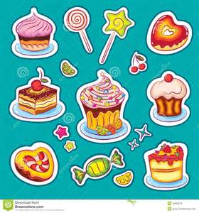 Airplane Wall Sticker sweets and cakes stickers royalty free stock photos