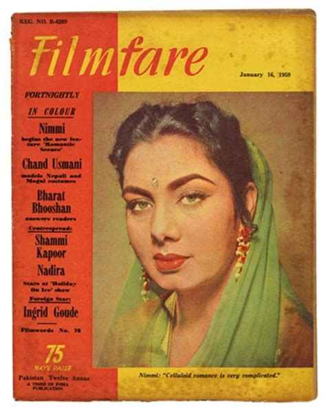 nimmi film actress biography 100 old filmfare magazine covers abhisays com