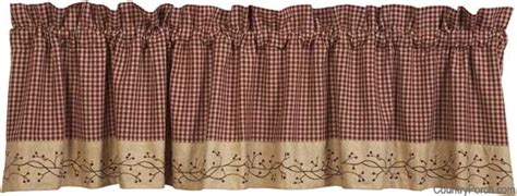 berry vine curtains india home fashions checker berry curtain valances