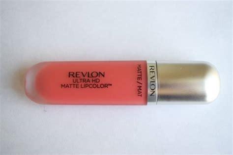Revlon Ultra Hd Matte Lip Color Type Addiction 5 9 Ml Revlon Ultra Hd Matte Lip Color Hd Flirtation Review