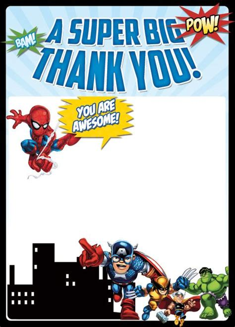 thank you card template heroes 25 best ideas about thank you cards on