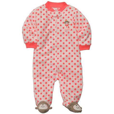 Babies R Us Sleeper by S Polka Dot Monkey Microfleece Sleep N Play Carters Babies Quot R Quot Us Baby