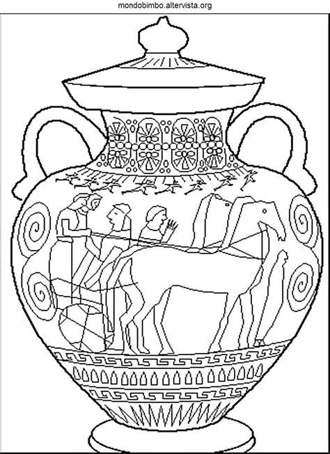 antichi vasi greci 37 vasi greci da colorare idei con decorazioni vasi greci