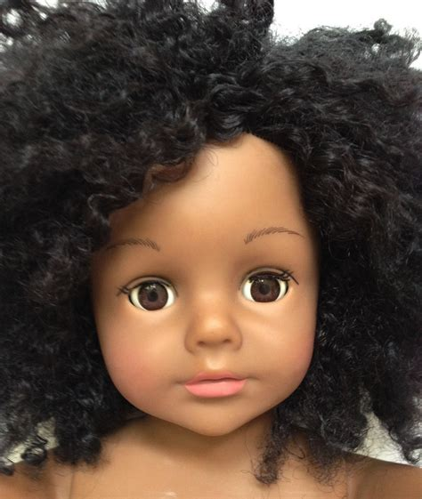 curly pudding for american hair 2008 madame alexander 18 quot doll african american black