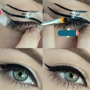 eyeliner template 10pc cat eye stencils makeup stencil eyeline models