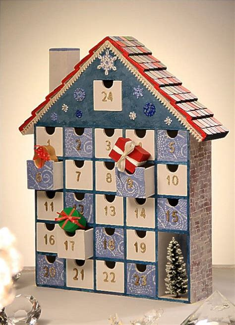 Wooden Advent Calendar House by Oh Yeah Diy Pretty Wooden 2016 Calendar That You Ll Fall