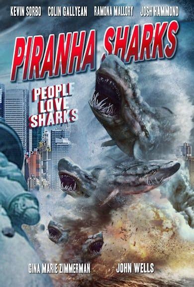 piranha sharks  release confirmed   poster bonus teaser  sharknado  included