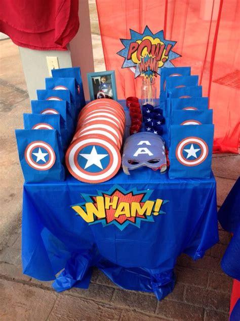 capitan america decoracion ambientacion cotilln fiestas fiesta de ni 241 o con tema de capitan america 29