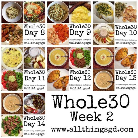 the 30 days whole food challenge 120 recipes for day by day diet program books whole30 week 2 all things g d