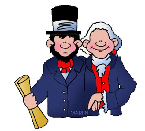 president weekend presidents day holiday clipart